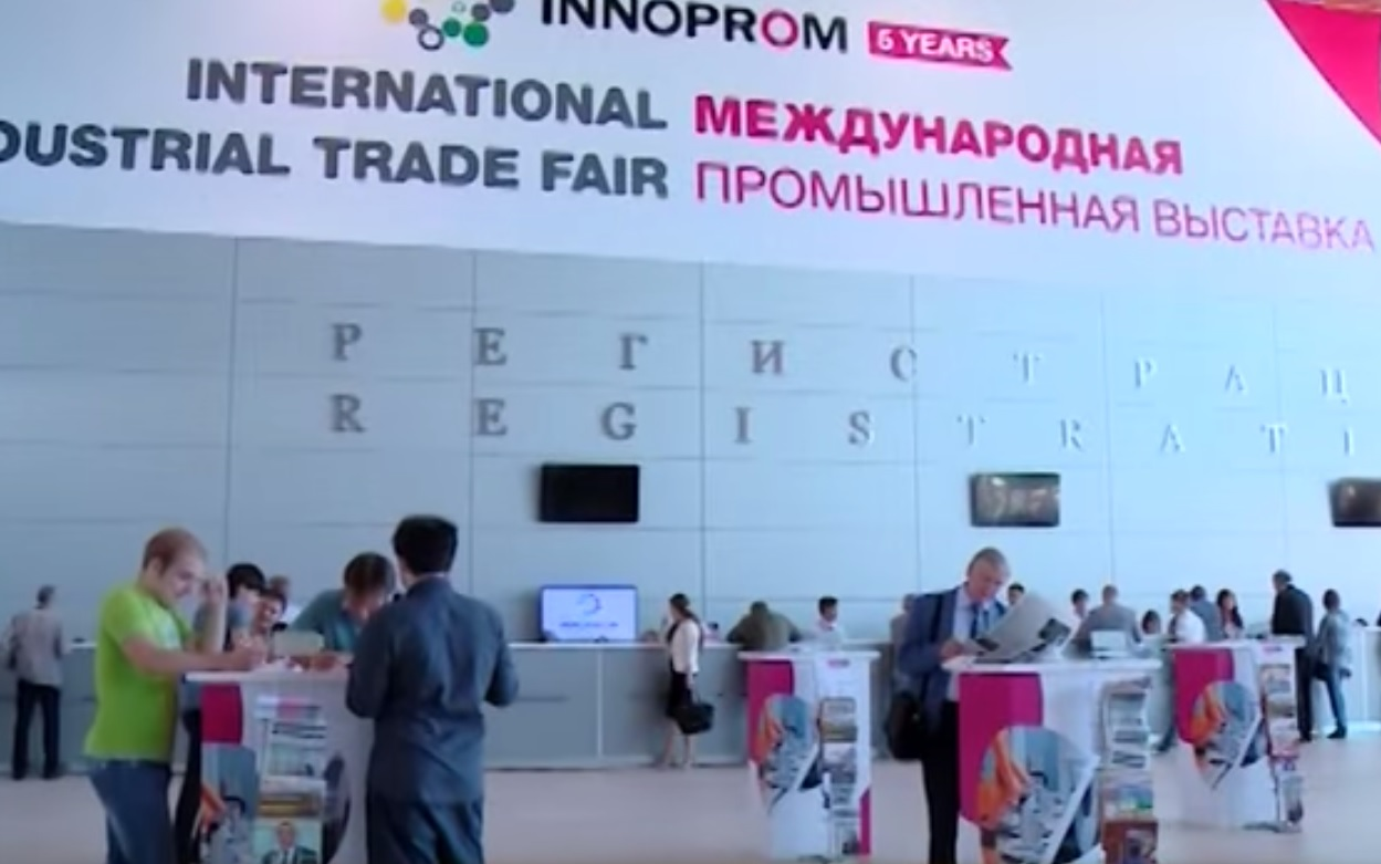 «Иннопром 2015»  — языковой барьер не помешал договориться